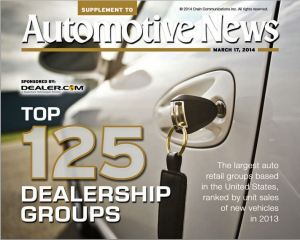 Top 125 Dealership Groups front page
